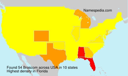 Surname Brascom in USA