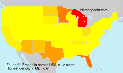Surname Brasgalla in USA