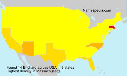 Surname Brichard in USA