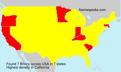 Briony - USA