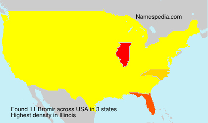 Surname Bromir in USA