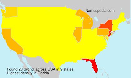Brondi - USA