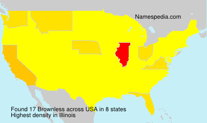 Surname Brownless in USA