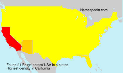 Surname Bruga in USA