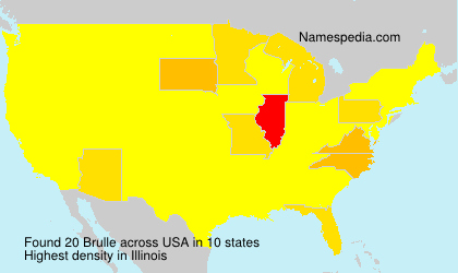 Surname Brulle in USA