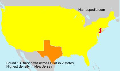 Surname Bruschetta in USA