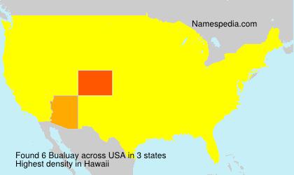 Surname Bualuay in USA
