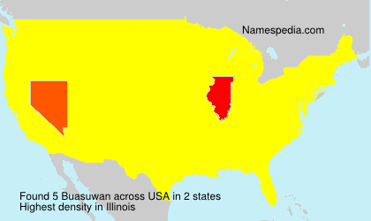 Surname Buasuwan in USA