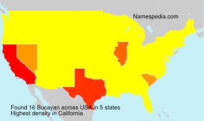 Familiennamen Bucayan - USA
