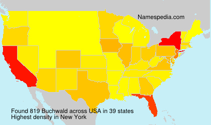 Surname Buchwald in USA