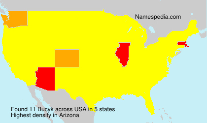 Surname Bucyk in USA