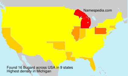Surname Bugard in USA