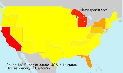 Surname Buhagiar in USA