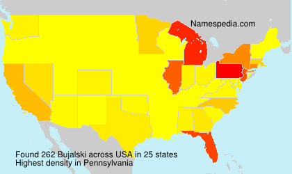 Surname Bujalski in USA