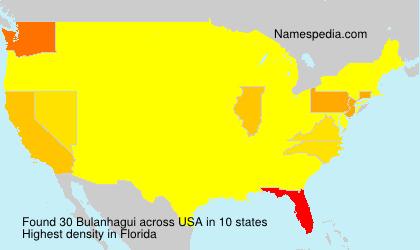 Surname Bulanhagui in USA