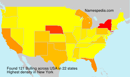 Surname Bulling in USA