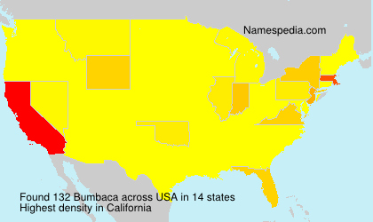 Surname Bumbaca in USA