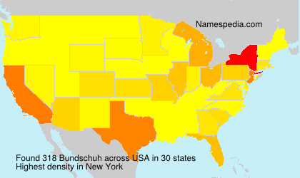 Surname Bundschuh in USA