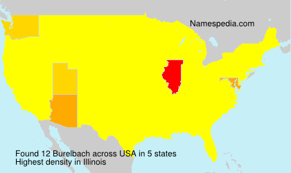 Surname Burelbach in USA
