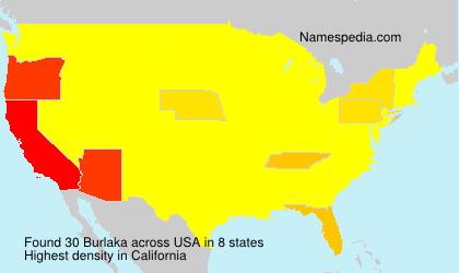 Surname Burlaka in USA