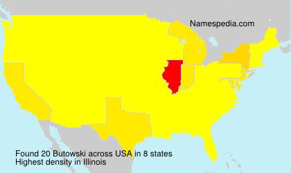 Surname Butowski in USA