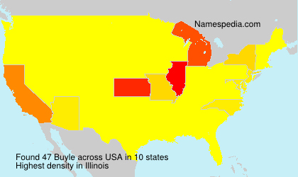 Surname Buyle in USA