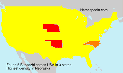 Surname Buzadzhi in USA