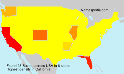 Surname Buzatu in USA
