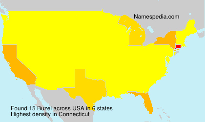 Surname Buzel in USA