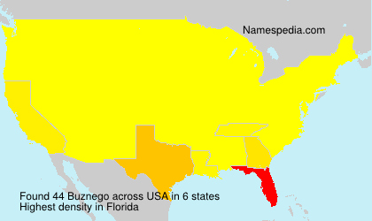 Surname Buznego in USA