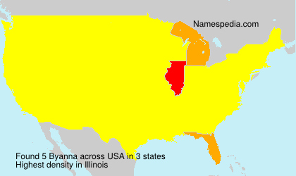 Surname Byanna in USA