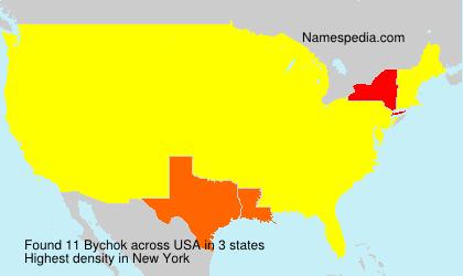 Surname Bychok in USA
