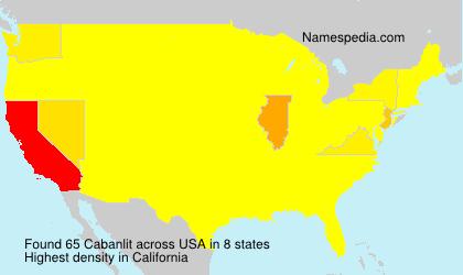 Cabanlit - USA