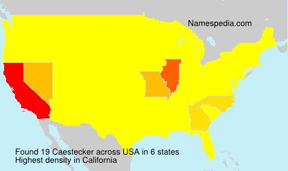Caestecker - USA