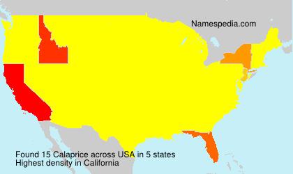 Calaprice - USA