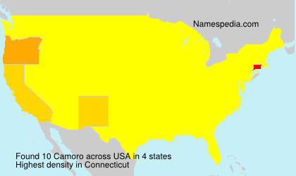 Surname Camoro in USA