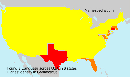 Surname Cangussu in USA