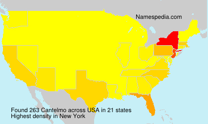Surname Cantelmo in USA