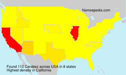 Surname Carabez in USA