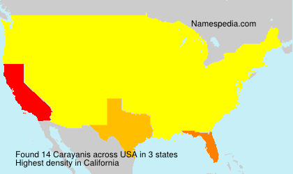 Surname Carayanis in USA