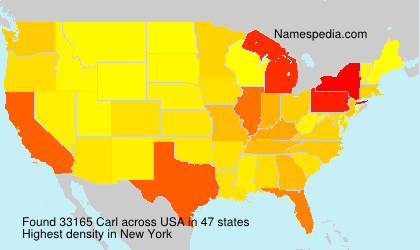 Surname Carl in USA