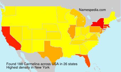 Surname Carmelina in USA