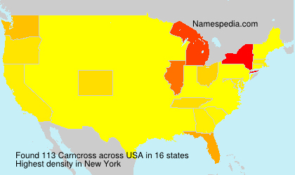 Surname Carncross in USA