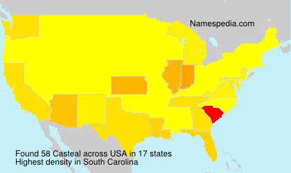 Surname Casteal in USA