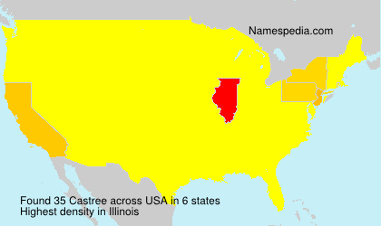 Surname Castree in USA