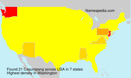 Surname Casumpang in USA