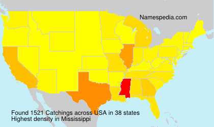 Surname Catchings in USA