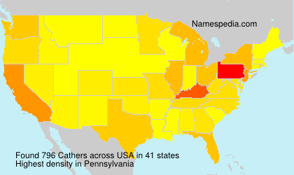 Surname Cathers in USA