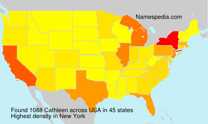 Surname Cathleen in USA