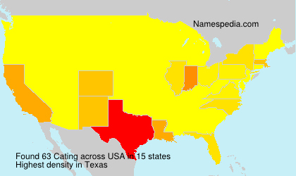 Surname Cating in USA